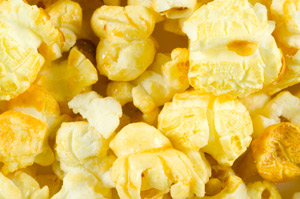 Popcorn-Dekoration