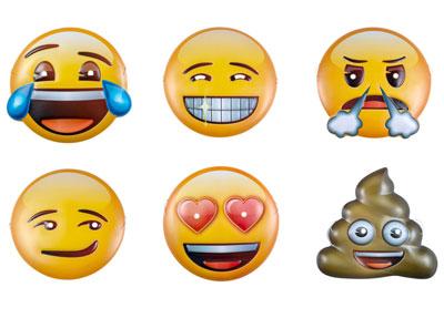 Einladung Emoji Kinderparty