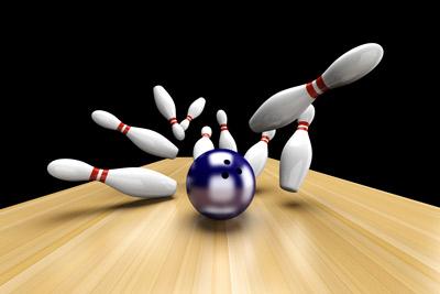 Bowling-Bahn