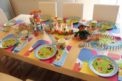 Kirstins Pippi-Geburtstagsparty