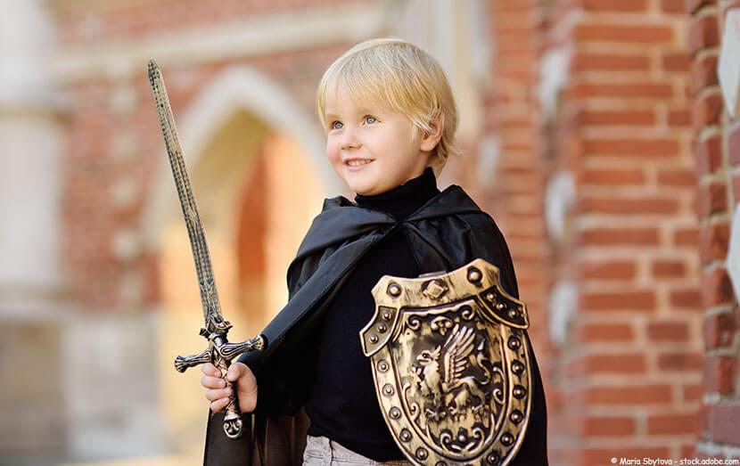 Kinderschminken Ritter