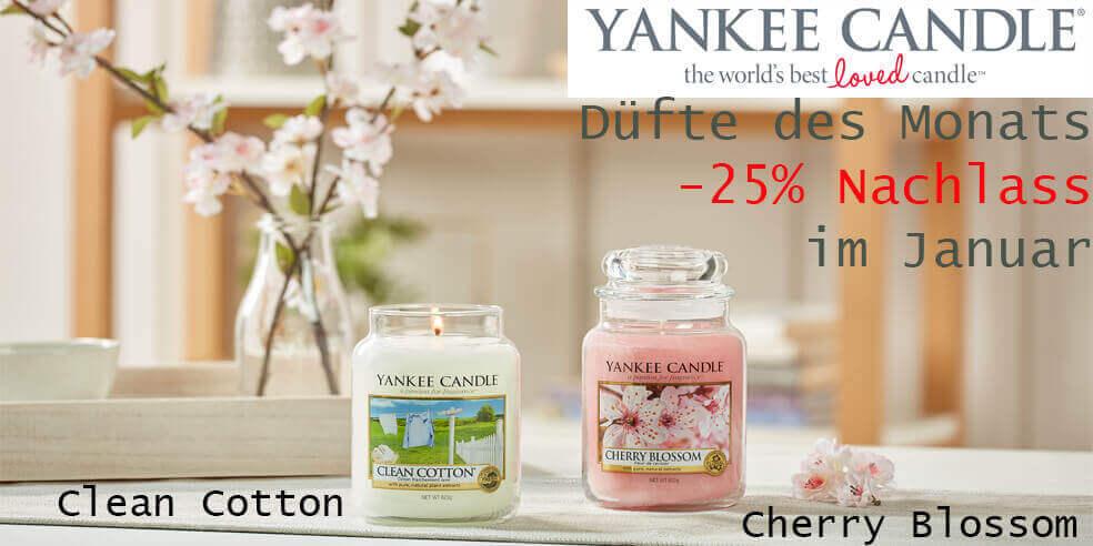 Yankee Candle Duft des Monats