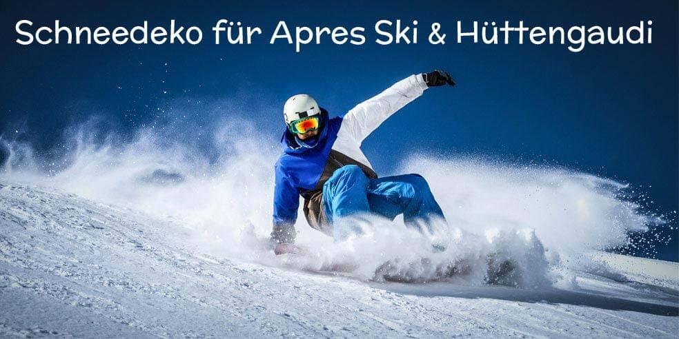 Apres Ski Party Deko