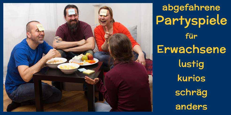 Partyspiele für Erwachsene