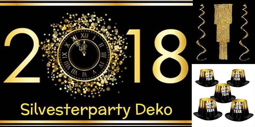 Silvester Party Deko