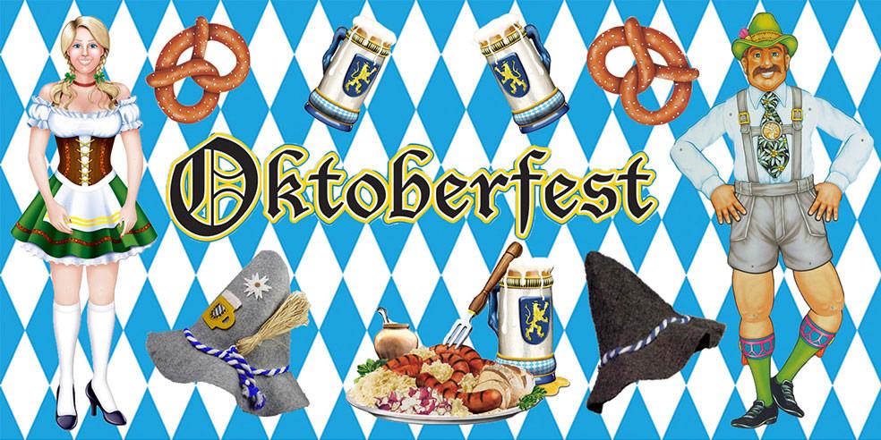 Oktoberfest Partydeko