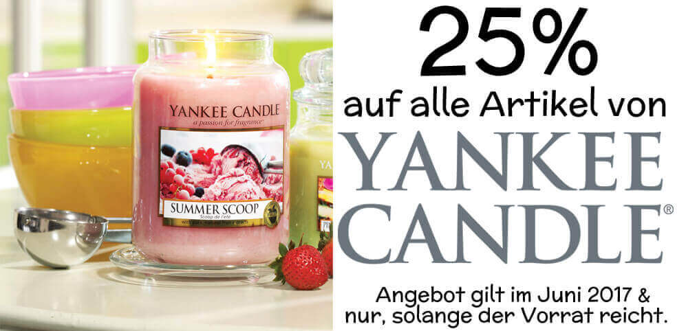 Yankee-Candle-Angebote